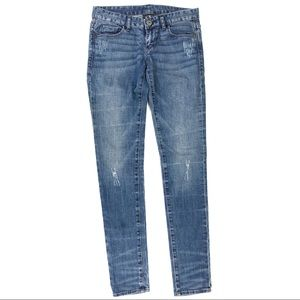 Armani Exchange Size 2 Reg Distressed Skinny Jeans